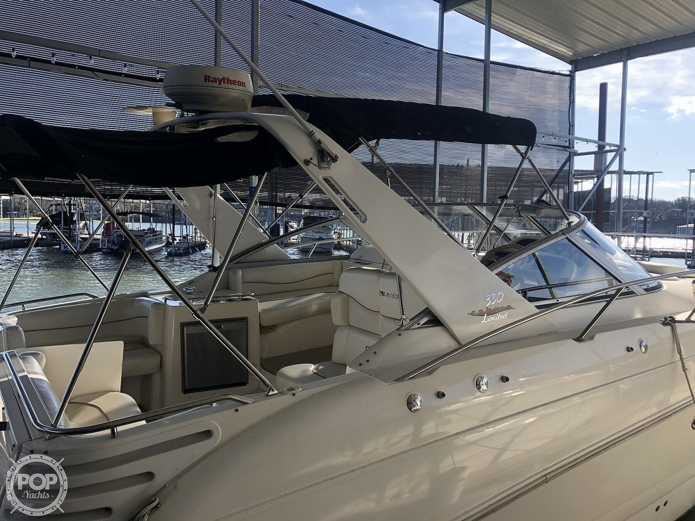 1999 Larson boat for sale, model of the boat is 330 Cabrio Mid Cabin & Image # 38 of 40