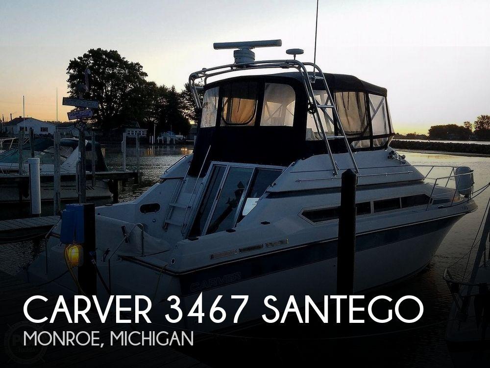 Used Carver Santego Boats For Sale by owner | 1989 Carver 34 Santego