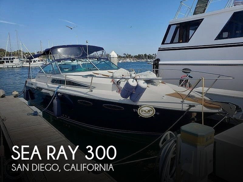 Used Sea Ray 300 Weekender Boats For Sale by owner | 1986 Sea Ray 300 Weekender