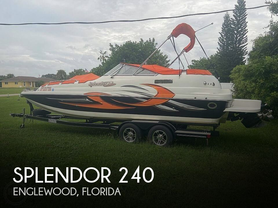 Used Deck Boats For Sale by owner | 2015 Splendor 240 SunStar