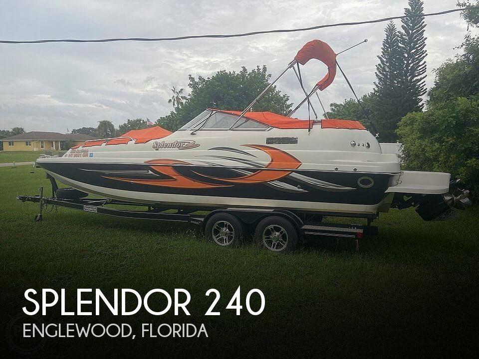 Used Splendor Deck Boats For Sale by owner | 2015 Splendor 240 SunStar