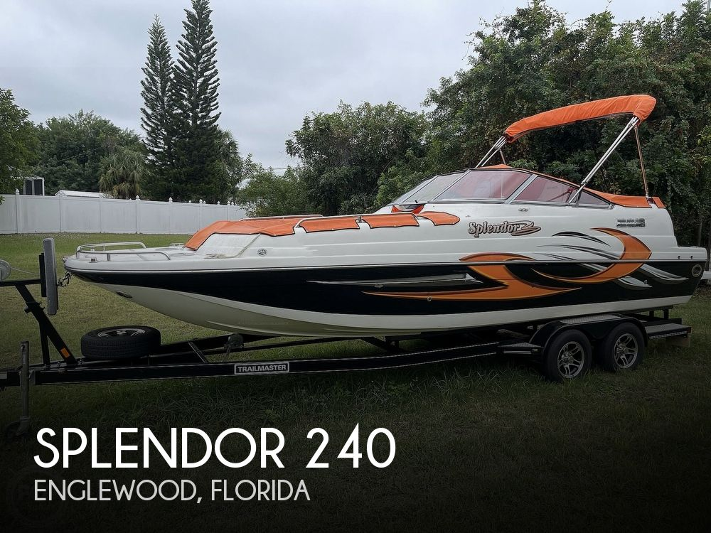 2015 Splendor boat for sale, model of the boat is 240 SunStar & Image # 1 of 40