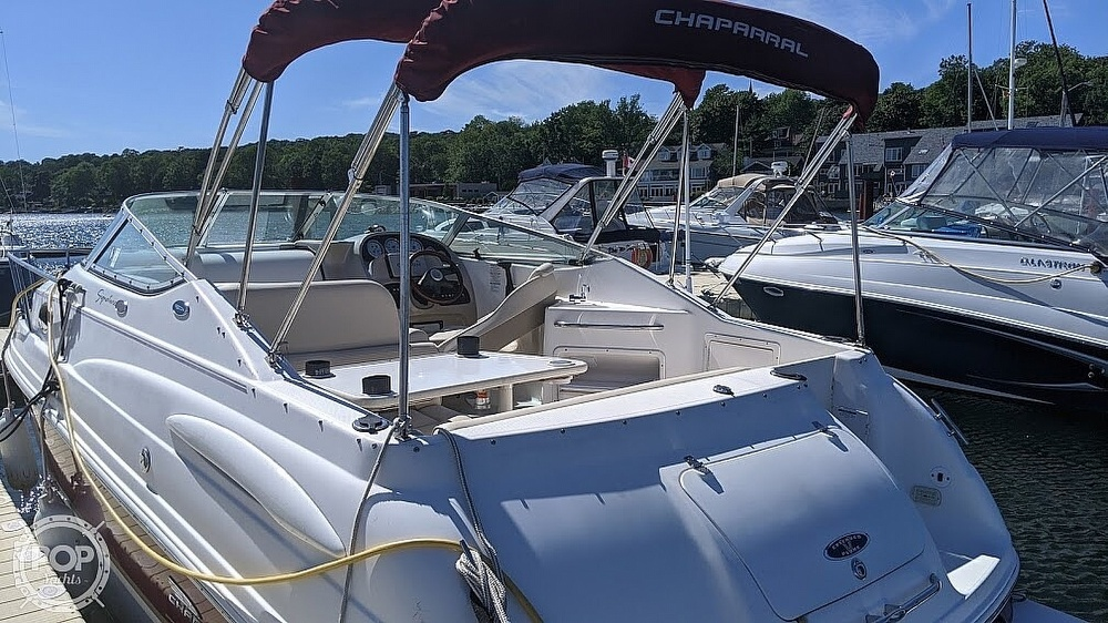 2004 Chaparral boat for sale, model of the boat is Signature 260 & Image # 12 of 40