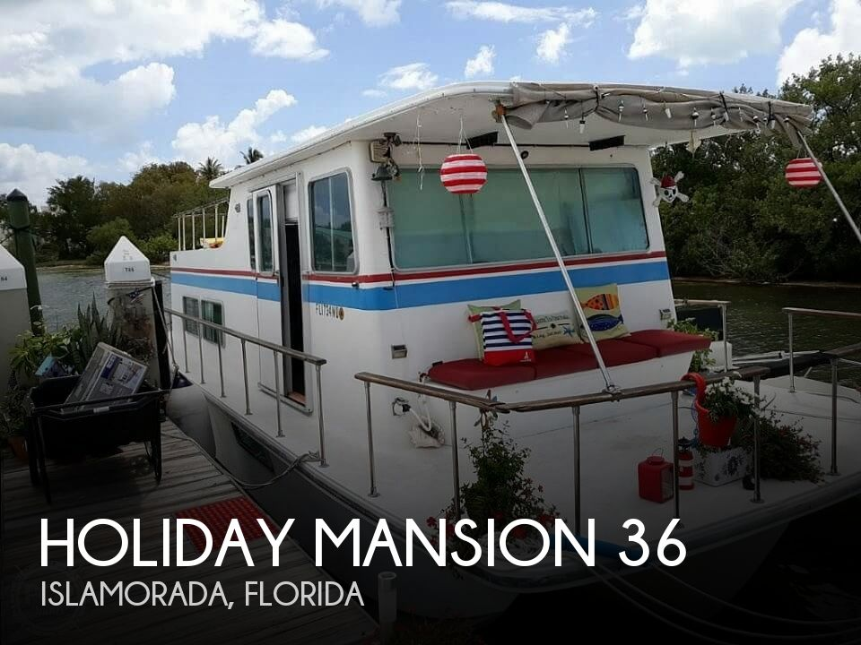 Used Holiday Mansion Boats For Sale by owner | 1972 35 foot Holiday Mansion Sea Rover