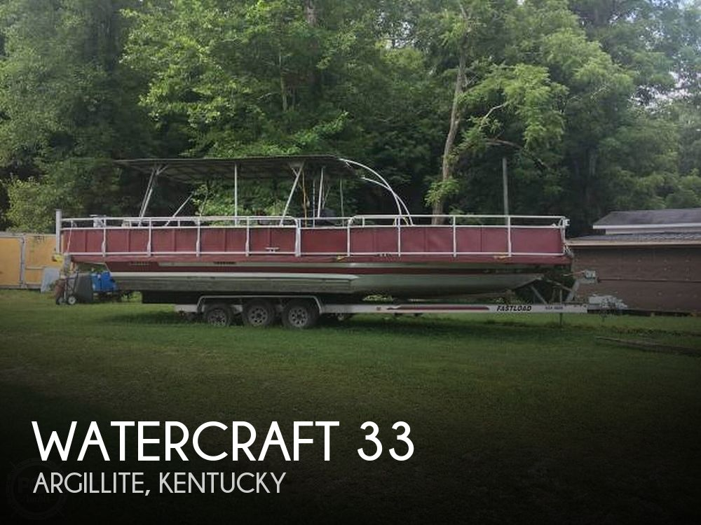 Used Boats For Sale in Huntington, West Virginia by owner | 1988 Watercraft 33