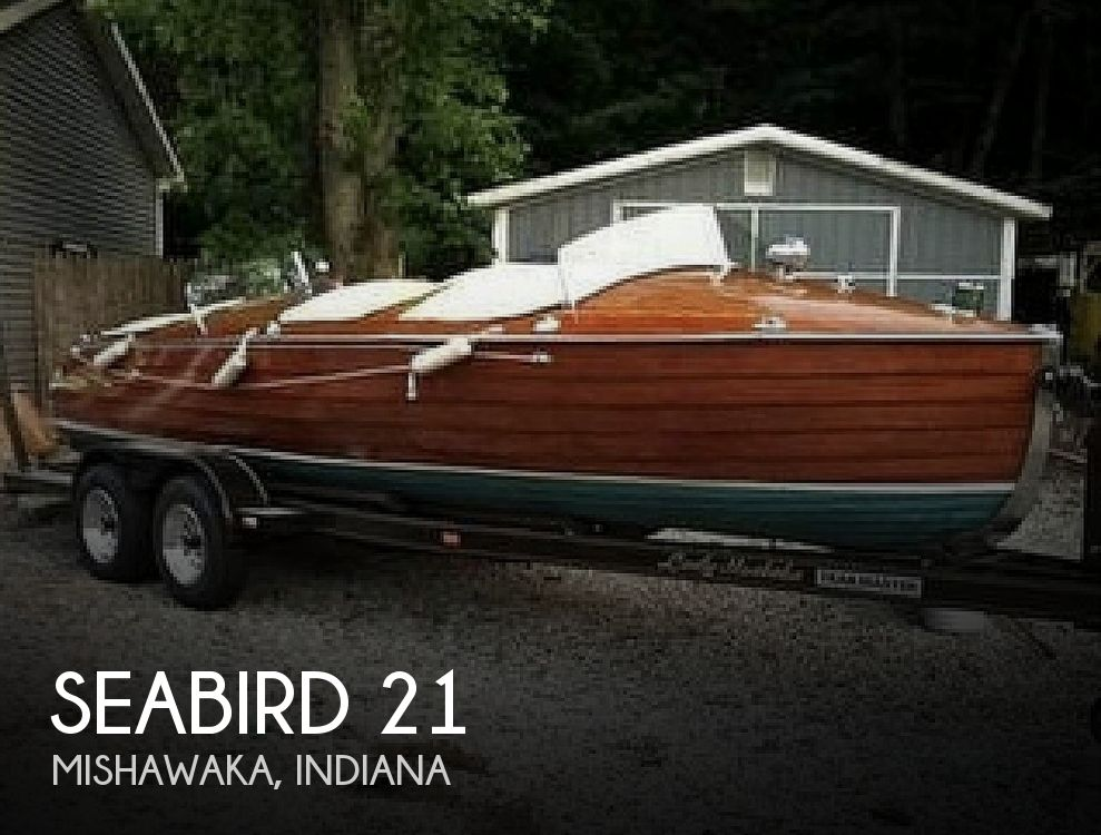 Used Boats For Sale in Kalamazoo, Michigan by owner | 1927 Seabird 22