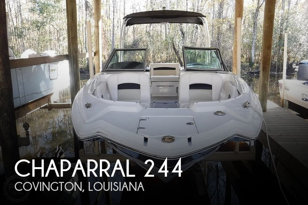 Used Deck Boats For Sale by owner | 2016 Chaparral Sunesta 244 Deluxe
