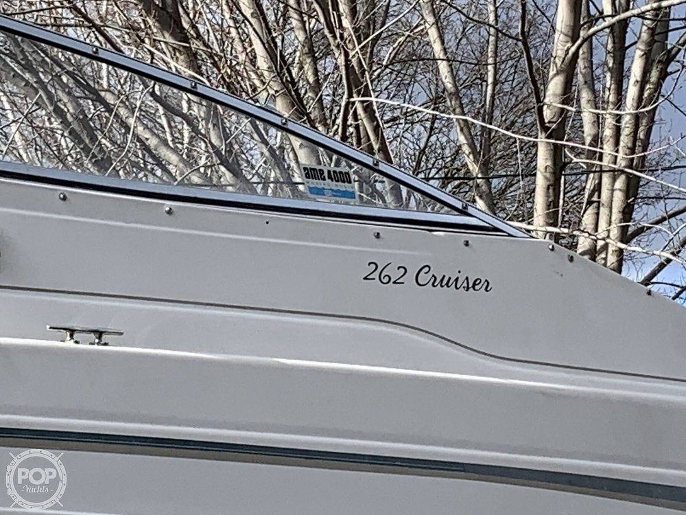 1998 Monterey boat for sale, model of the boat is 262 Cruiser & Image # 20 of 40
