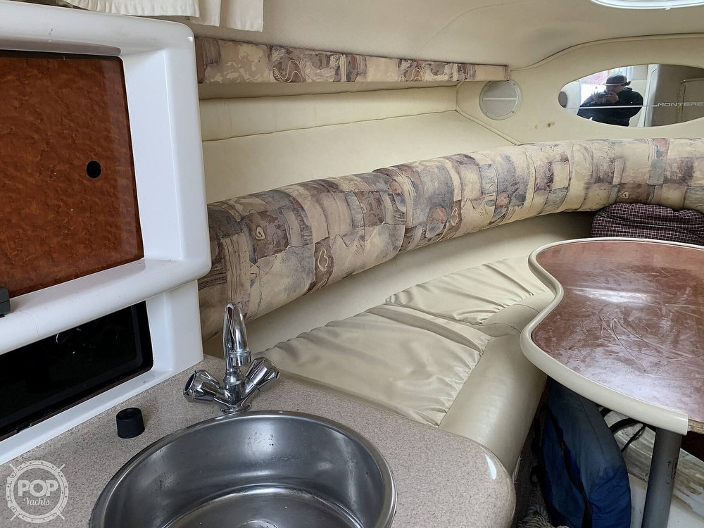 1998 Monterey boat for sale, model of the boat is 262 Cruiser & Image # 33 of 40
