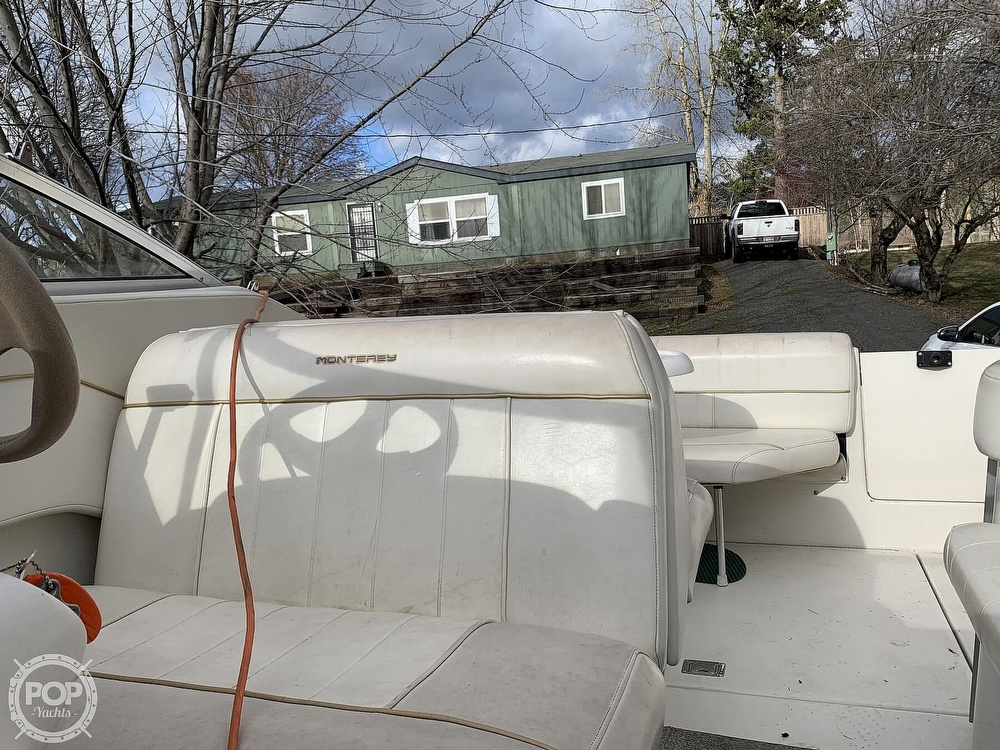 1998 Monterey boat for sale, model of the boat is 262 Cruiser & Image # 25 of 40