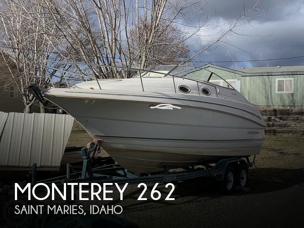 1998 Monterey boat for sale, model of the boat is 262 Cruiser & Image # 1 of 40