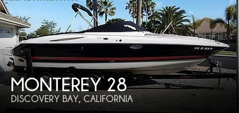 Used Monterey Boats For Sale in California by owner | 2004 Monterey 28