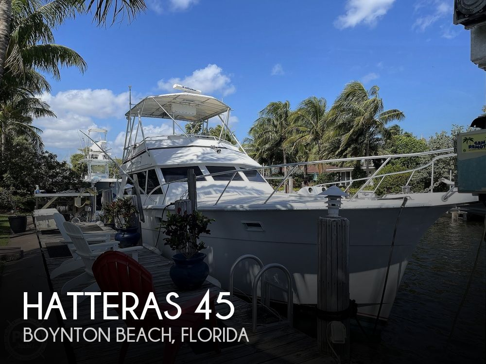 1969 Hatteras boat for sale, model of the boat is 45 & Image # 1 of 40