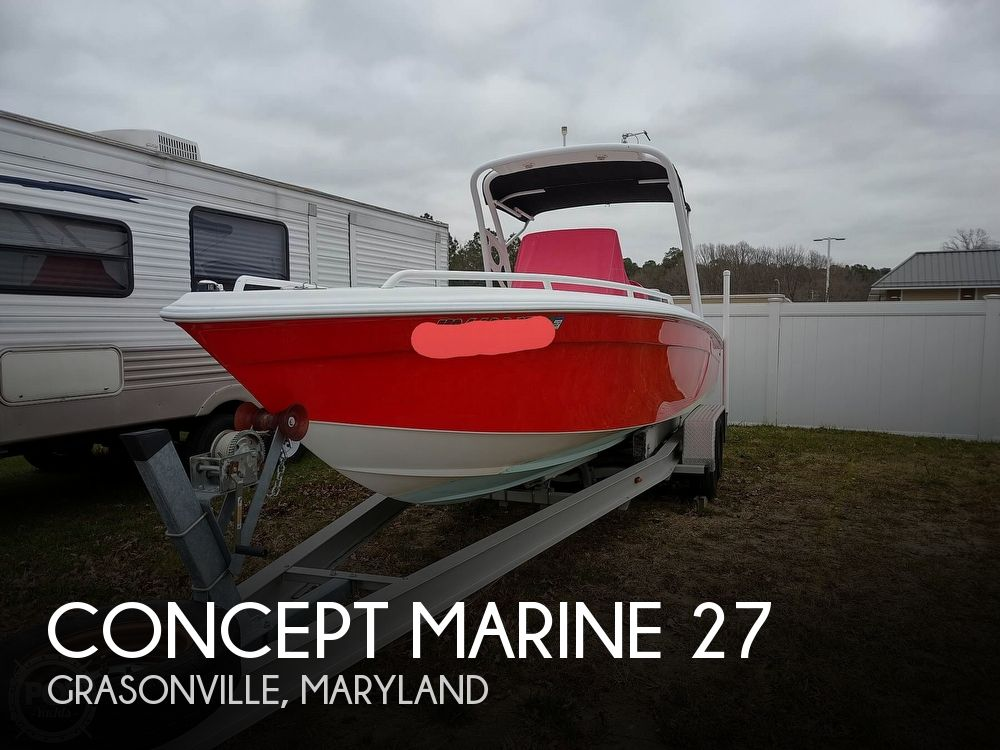 2008 Concept Marine boat for sale, model of the boat is 27 PR Sport & Image # 1 of 40