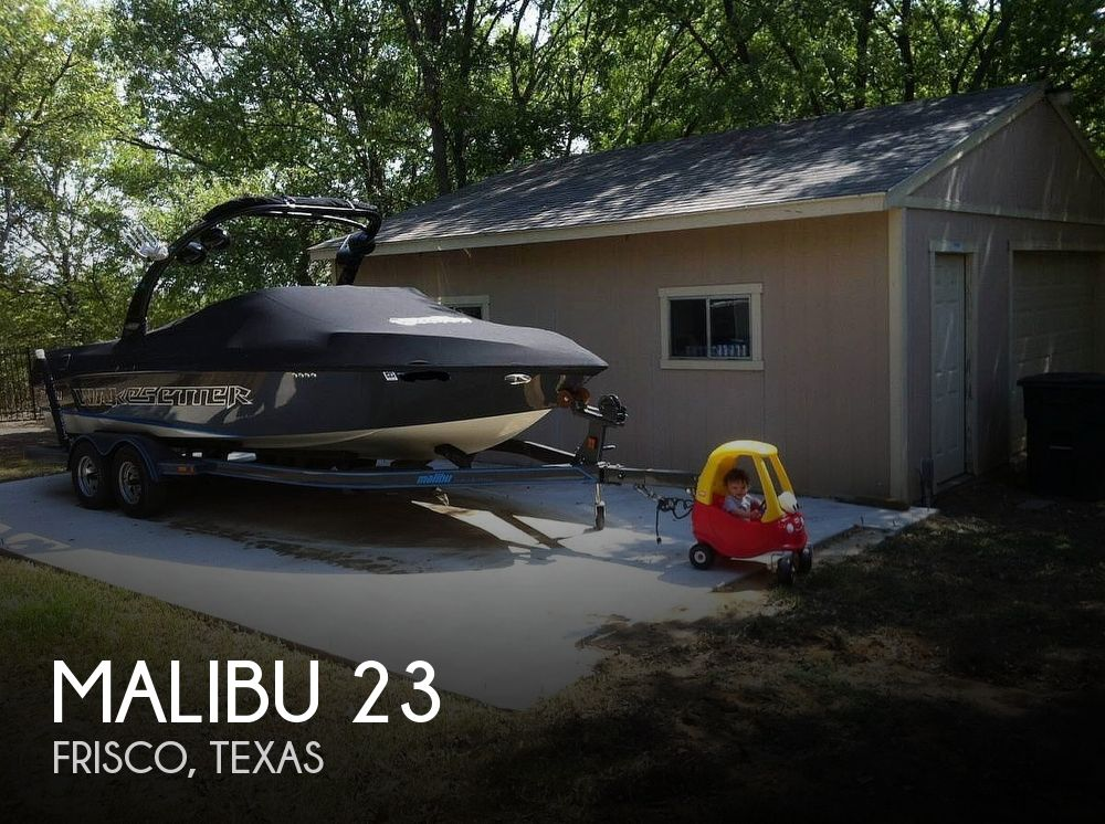 Used MALIBU Boats For Sale in Texas by owner   2007 Malibu Wakesetter 23LSV