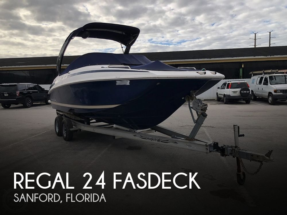 2013 Regal boat for sale, model of the boat is 24 Fasdeck & Image # 1 of 40