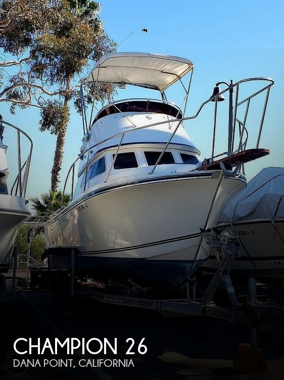Used Champion Boats For Sale by owner | 1985 Champion 26 Blackman