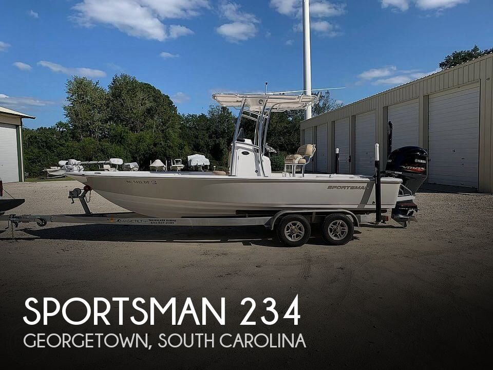 Used Sportsman Boats For Sale by owner | 2017 Sportsman Tournament 234 Bay