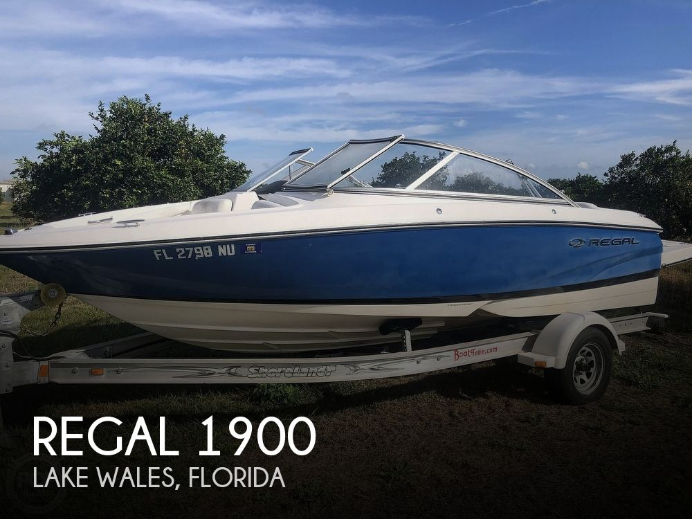 Used Regal 1900 Boats For Sale by owner | 2008 Regal 1900