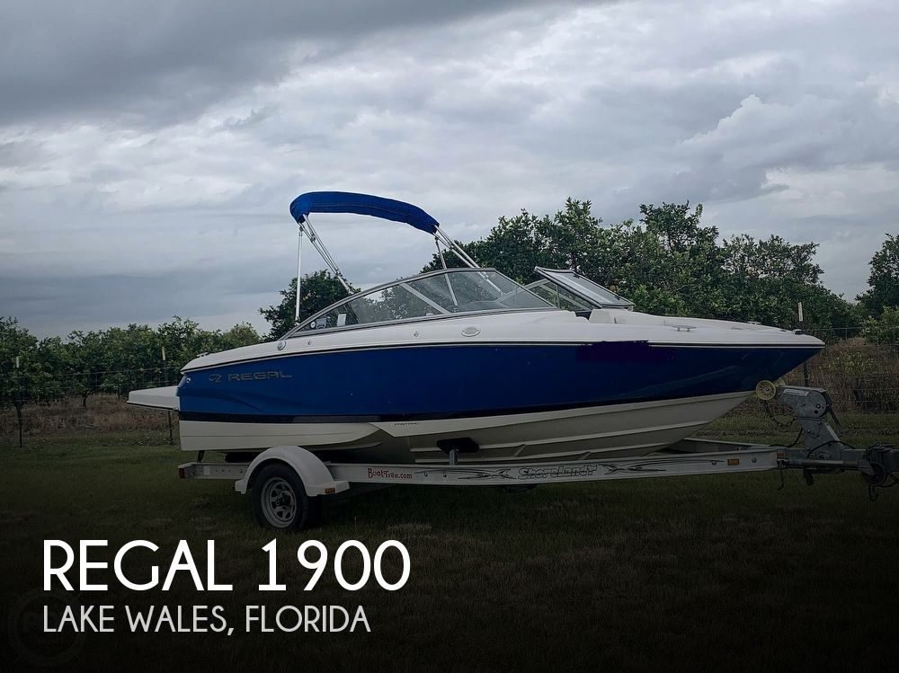 2008 Regal boat for sale, model of the boat is 1900 & Image # 1 of 40