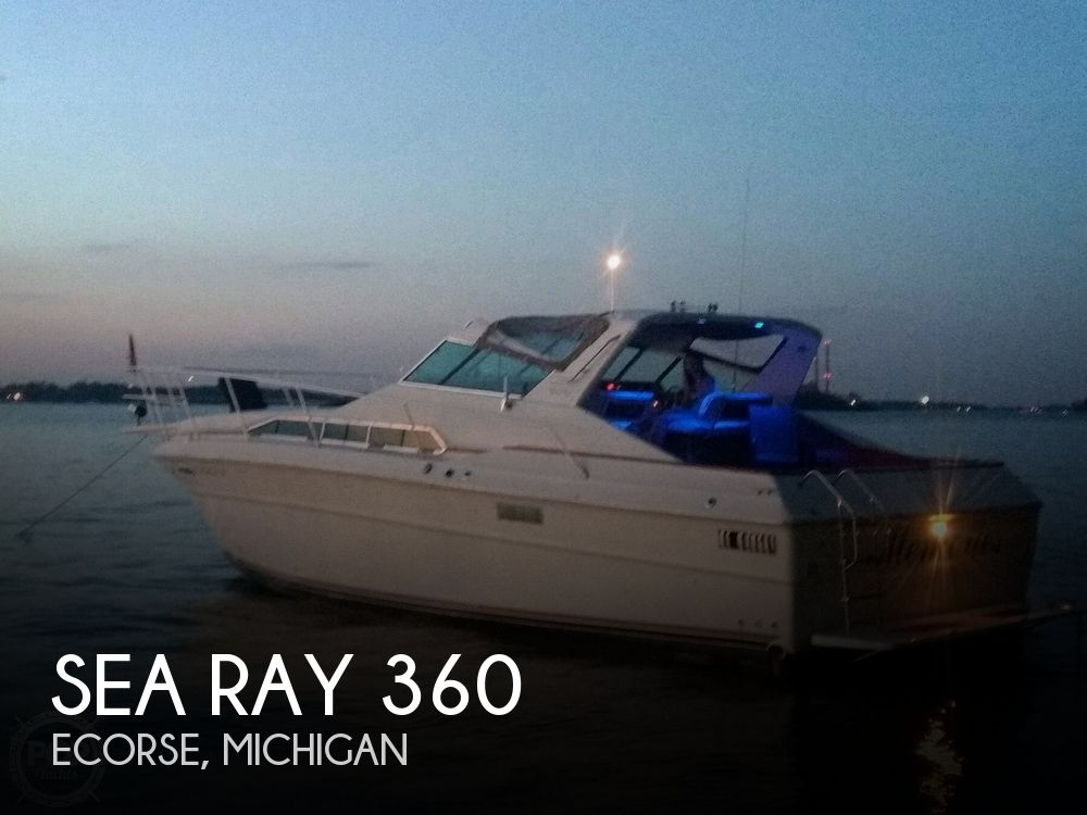 1983 Sea Ray boat for sale, model of the boat is SRV 360 Express & Image # 1 of 33