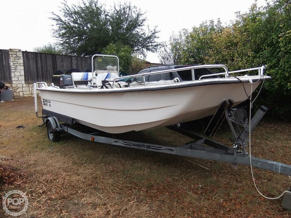 2002 Carolina Skiff boat for sale, model of the boat is 218 DLV & Image # 11 of 40