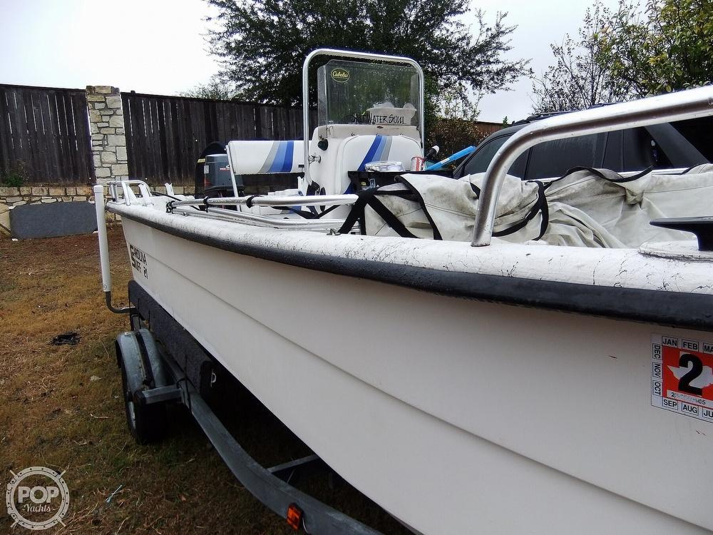2002 Carolina Skiff boat for sale, model of the boat is 218 DLV & Image # 16 of 40