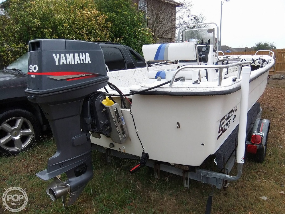 2002 Carolina Skiff boat for sale, model of the boat is 218 DLV & Image # 17 of 40