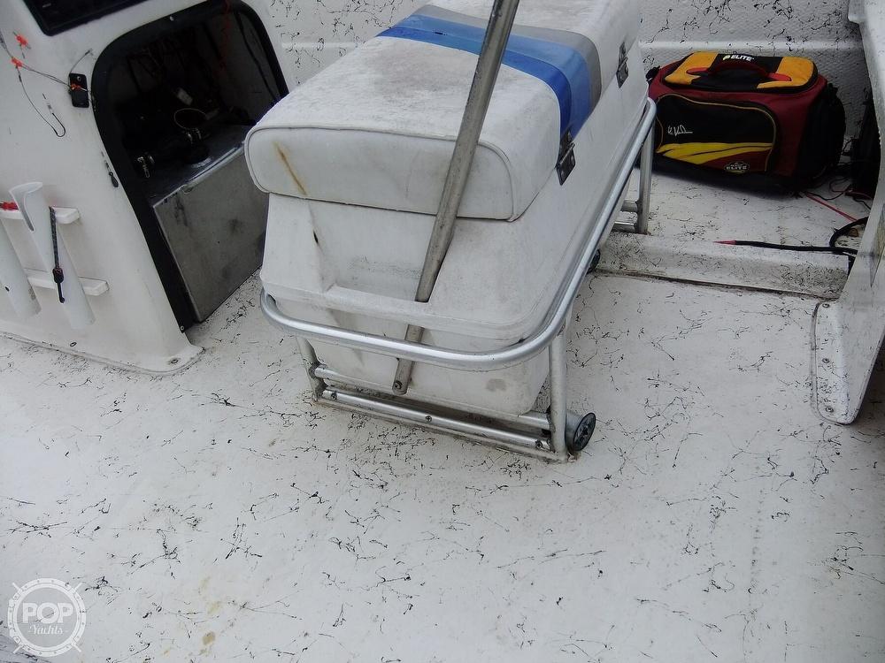 2002 Carolina Skiff boat for sale, model of the boat is 218 DLV & Image # 23 of 40