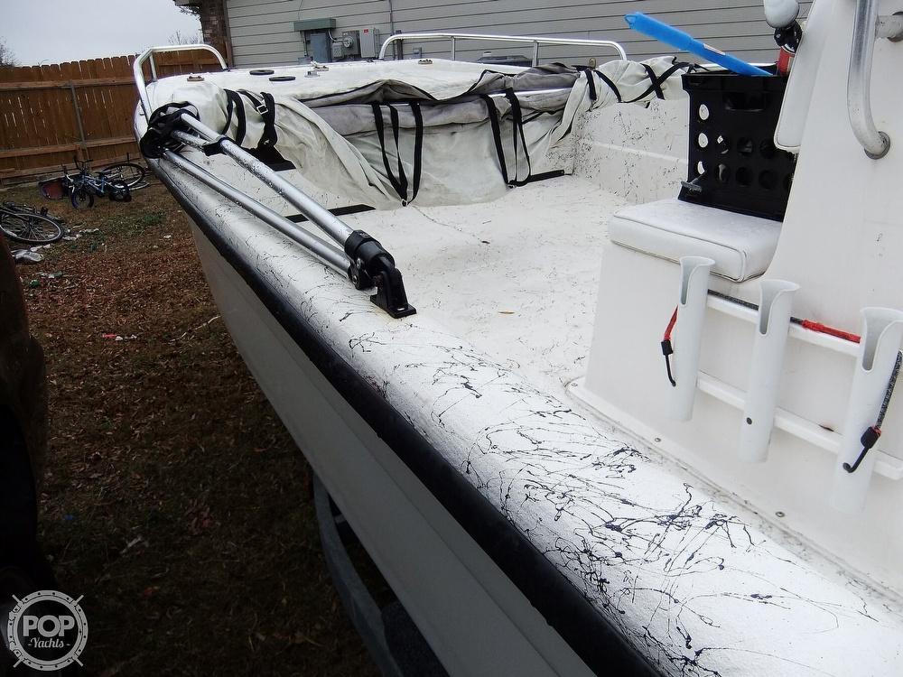 2002 Carolina Skiff boat for sale, model of the boat is 218 DLV & Image # 26 of 40