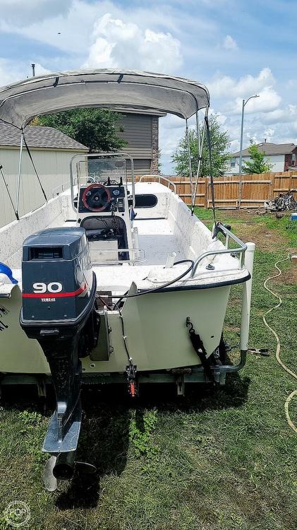 2002 Carolina Skiff boat for sale, model of the boat is 218 DLV & Image # 4 of 40