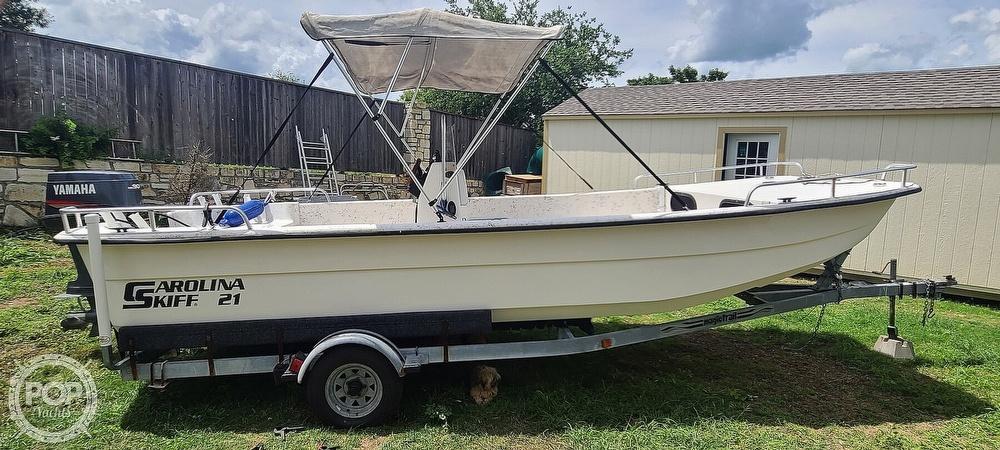 2002 Carolina Skiff boat for sale, model of the boat is 218 DLV & Image # 2 of 40