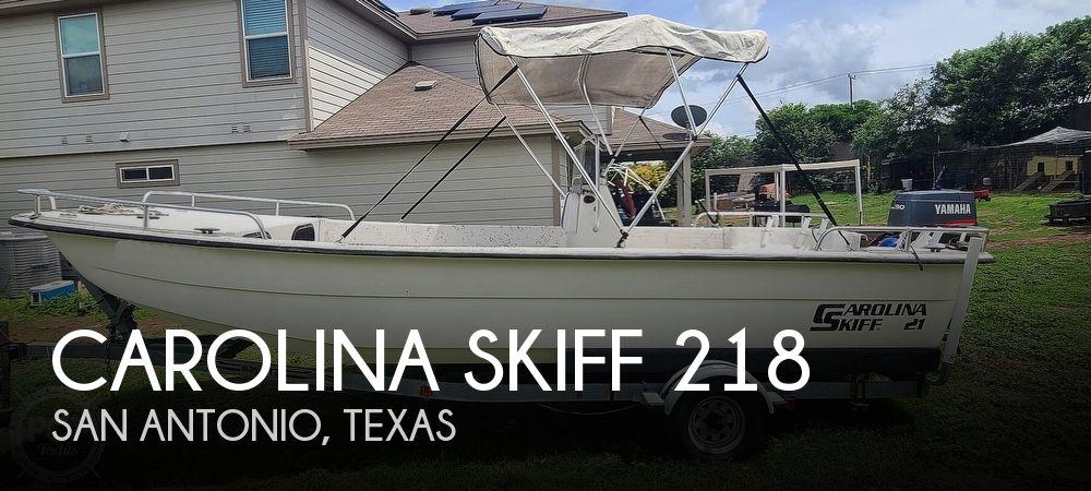 2002 Carolina Skiff boat for sale, model of the boat is 218 DLV & Image # 1 of 40