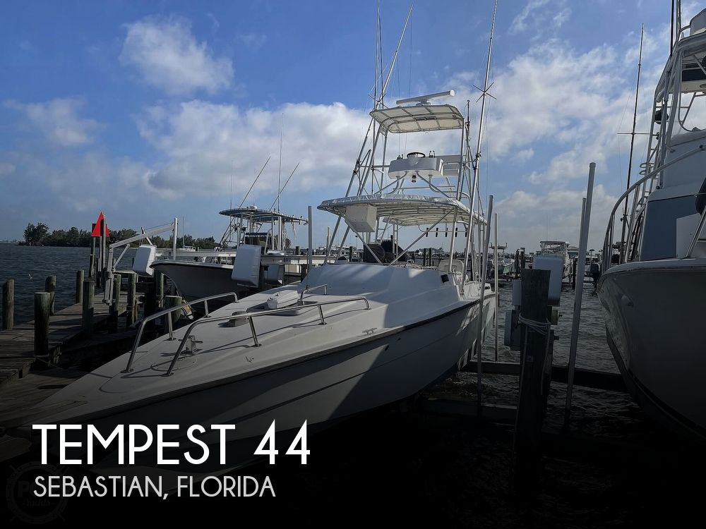 1987 Tempest boat for sale, model of the boat is 44 & Image # 1 of 40
