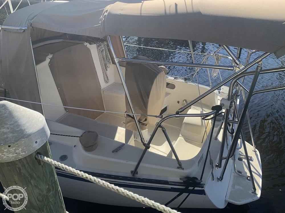 1989 Capital Yachts boat for sale, model of the boat is Gulf 29 Pilot & Image # 2 of 40