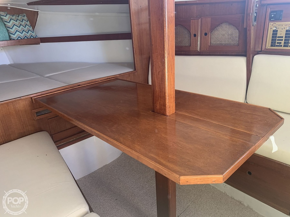 1989 Capital Yachts boat for sale, model of the boat is Gulf 29 Pilot & Image # 6 of 40