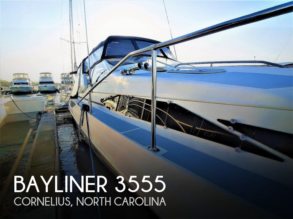 1990 Bayliner boat for sale, model of the boat is 3555 Avanti & Image # 1 of 40