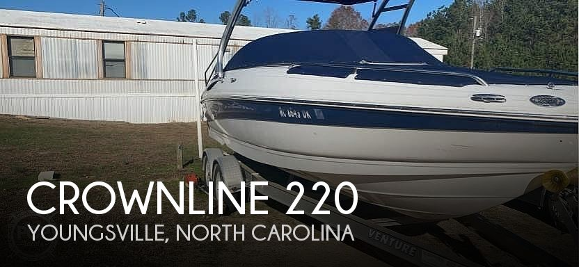 Used Crownline Boats For Sale in North Carolina by owner   2008 Crownline 220
