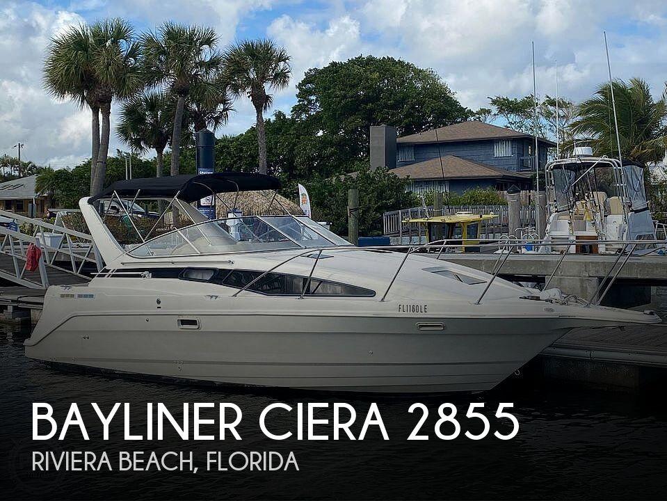 Used Bayliner ciera Boats For Sale by owner | 1996 Bayliner ciera 2855