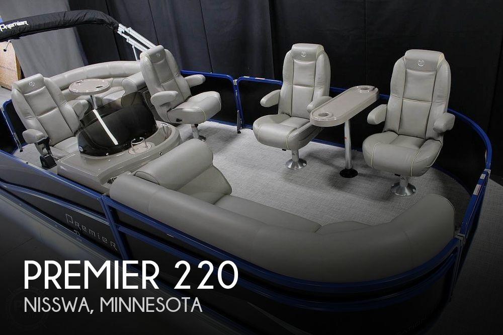 2018 Premier Pontoons boat for sale, model of the boat is Sunsation 220 & Image # 1 of 9