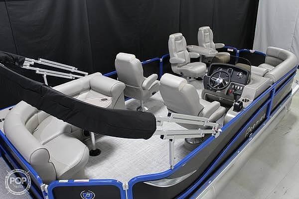 2018 Premier Pontoons boat for sale, model of the boat is Sunsation 220 & Image # 2 of 9