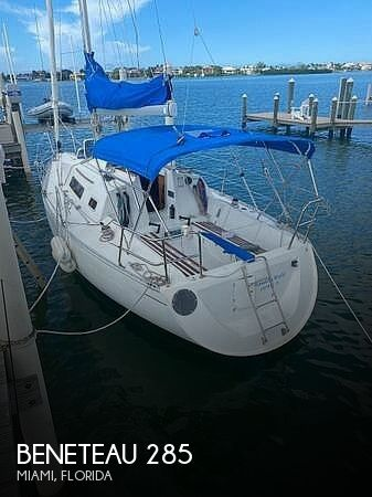 Used Beneteau Sailboats For Sale in Florida by owner | 1988 Beneteau 285 WK