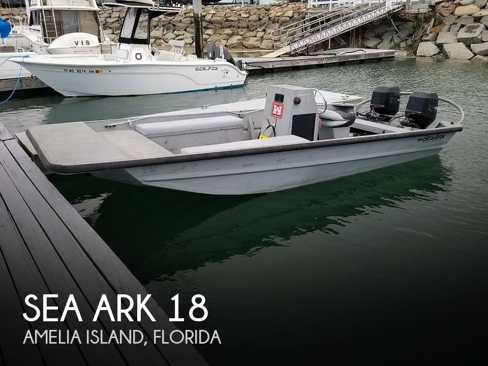 Used Sea ark Boats For Sale by owner | 1998 Sea Ark RiverRunner 18