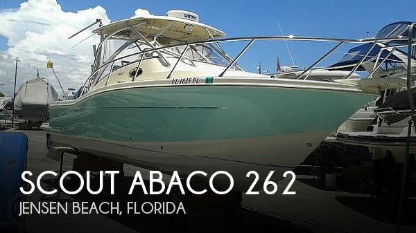Used Scout Boats For Sale by owner | 2006 Scout Abaco 262