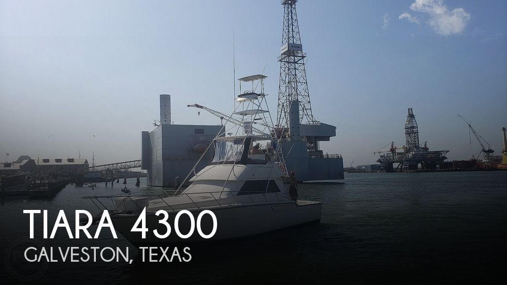 Used Boats For Sale in Houston, Texas by owner | 1990 Tiara 4300