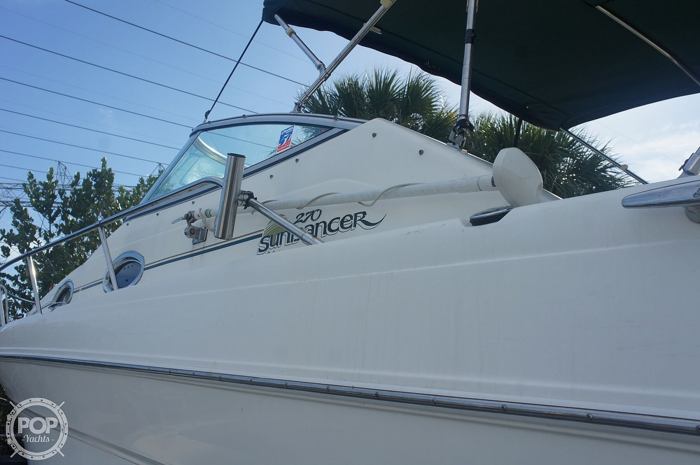 2001 Sea Ray boat for sale, model of the boat is 270 Sundancer & Image # 19 of 40