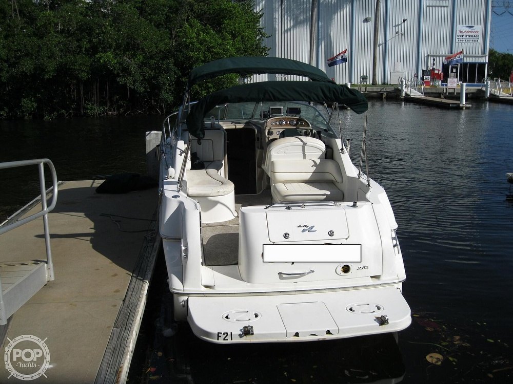 2001 Sea Ray boat for sale, model of the boat is 270 Sundancer & Image # 5 of 40