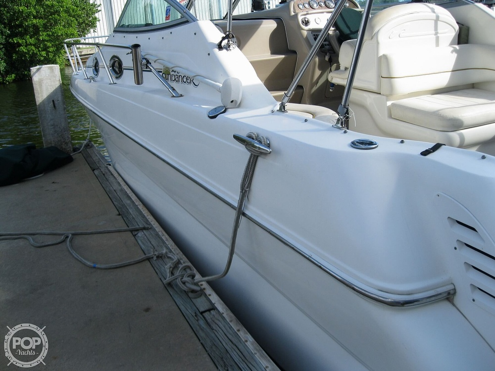 2001 Sea Ray boat for sale, model of the boat is 270 Sundancer & Image # 9 of 40