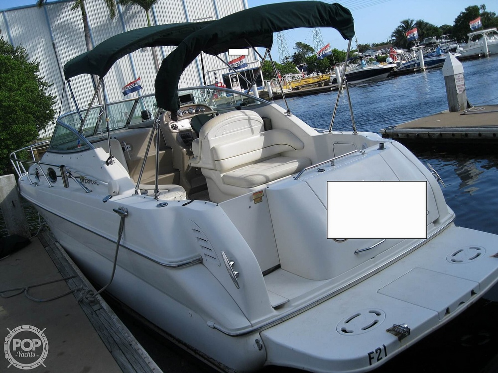 2001 Sea Ray boat for sale, model of the boat is 270 Sundancer & Image # 10 of 40