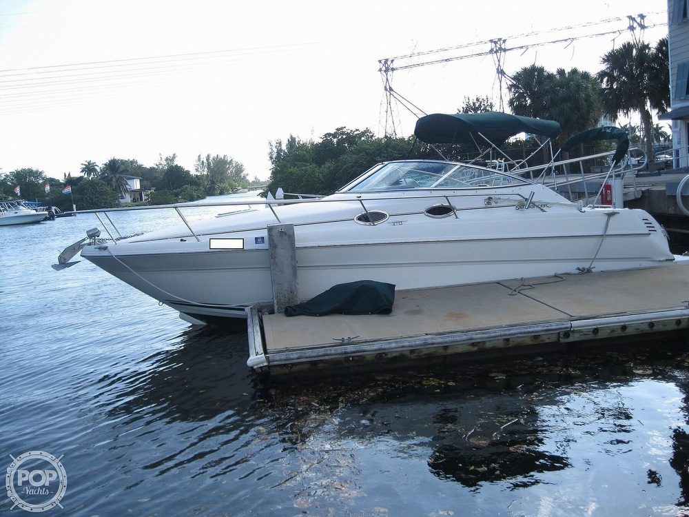 2001 Sea Ray boat for sale, model of the boat is 270 Sundancer & Image # 16 of 40